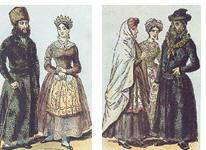לבוש יהודי פולני מהמאה ה-18